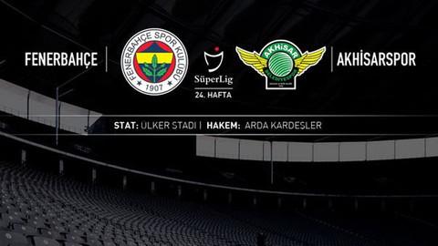 Maç sonucu: Fenerbahçe 2-3 Akhisar