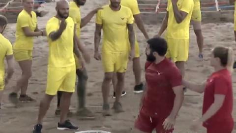 Survivor'da Romanya-Türkiye kavgası
