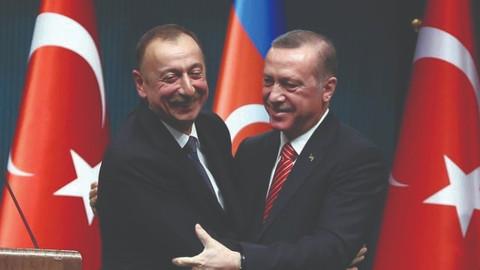 Cumhurbaşkanı Erdoğan, Aliyev ile telefonla görüştü