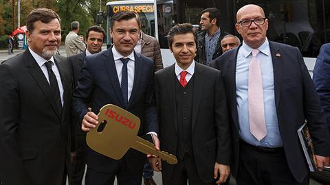 Anadolu Isuzu tarihinin rekor ihracat düzeyine ulaştı
