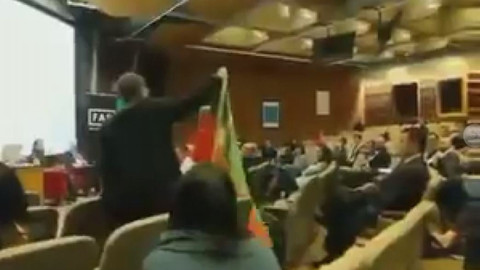 İlker Başbuğ'a ABD'de PKK yandaşlarından protesto