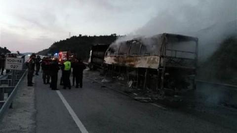Çorum-Osmancık'ta yanan yolcu otobüsü hangi firmaya ait? Çorum otobüs kazasının firması belli oldu