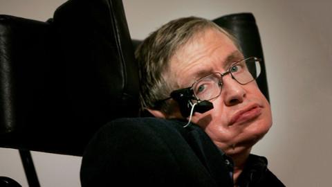 Fizikçi Stephen Hawking 76 yaşında hayatını kaybetti