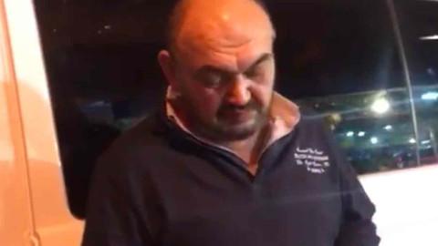 Uber sürücüsü Sarıyer'de darp edildi