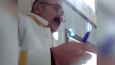 Cuma Hutbesi'ne reklam alan imanın videosu