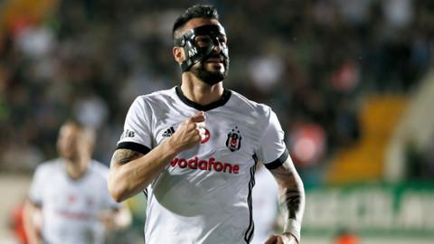 Beşiktaş deplasmanda yüksekten uçtu