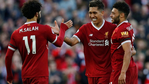 Liverpool kazandı, Muhammed  Salah rekor kırdı