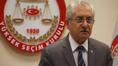 YSK Başkanı Sadi Güven: Yasal süreç içinde çalışmalarımızı yürütüyoruz