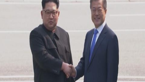 Kuzey Kore ve Güney Kore lideri nükleer silah konusunda uzlaştı