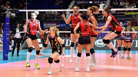 Vakıfbank Kadın Voleybol Takımı Avrupa şampiyonu oldu