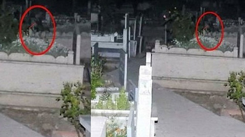 Çorum'da mezarlıkta ağlayan kız bulundu