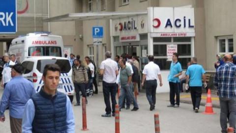 Hastane önünde silahlı saldırı