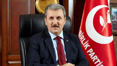 Destici'den Cumhurbaşkanı Erdoğan'a teşekkür ziyareti