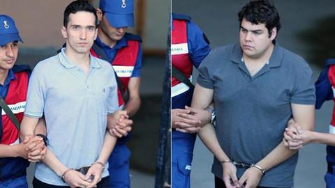 Tutuklu Yunan askerleri hakkında karar çıktı