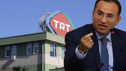 Bekir Bozdağ'dan İnce'ye TRT açıklaması