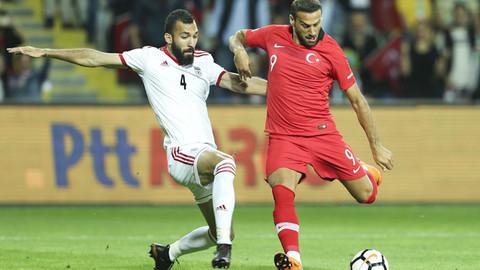 Türkiye hazırlık maçında İran'ı 2-1 mağlup etti