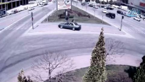 Yurt genelinde meydana gelen kazaların MOBESE görüntüleri yayınlandı