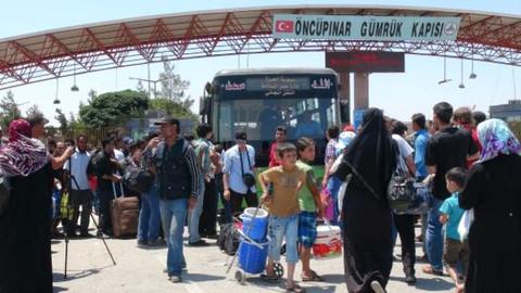 Suriye'ye bayram için gidenlerin sayısı 46 bini buldu