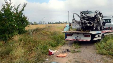 Eskişehir'de kaza: 5 ölü 2 yaralı