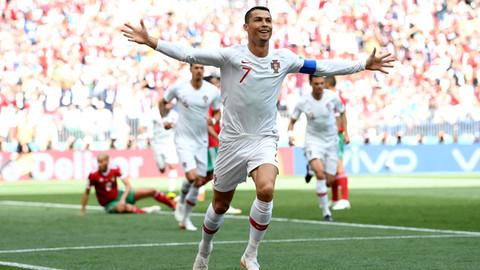 Ronaldo attı Portekiz kazandı
