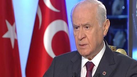 Devlet Bahçeli: Davutoğlu'nun hatalarına düşerlerse her şey biter