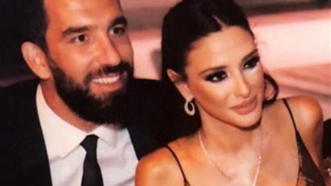 Arda Turan'ın 5 aylık hamile eşi Aslıhan Doğan ilk kez görüntülendi