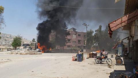 Afrin'de bombalı araç saldırısı: Çok sayıda ölü ve yaralı var