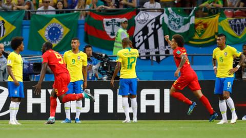Brezilya'yı eleyen Belçika Dünya Kupası'nda yarı finale yükseldi