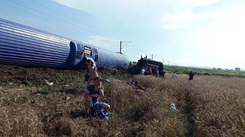 Tekirdağ'da tren kazası: 24 ölü 318 yaralı