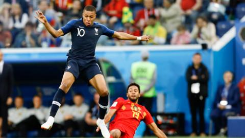 Dünya Kupası'nda ilk finalist Fransa oldu