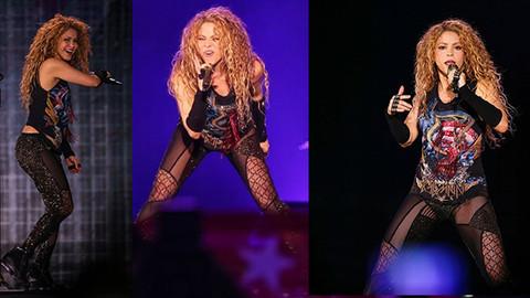 Shakira'nın İstanbul konserindeki performansı