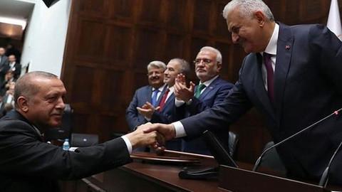 Cumhurbaşkanı Erdoğan Binali Yıldırım'ı tebrik etti