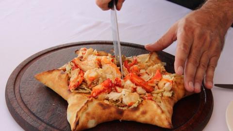 500 TL'lik pizzanın içinde neler var?