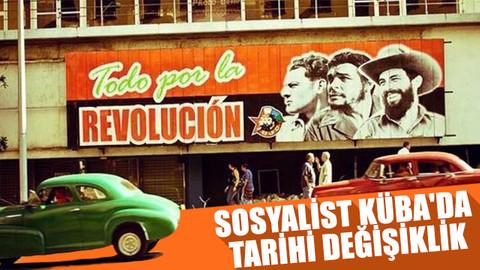 Sosyalist Küba'da tarihi değişiklik
