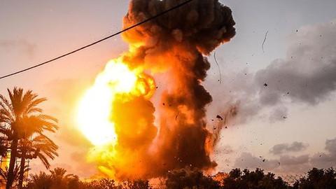 İsrail, Gazze'ye saldırı başlattı