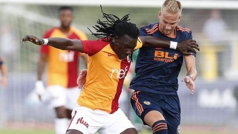 Galatasaray hazırlık maçında Valencia'ya mağlup oldu