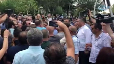 TBMM önünde eylem yapmak isteyen gruba polis müdahalesi