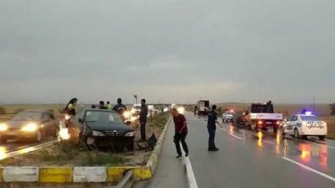 Konya-Ankara kara yolunda zincirleme kaza