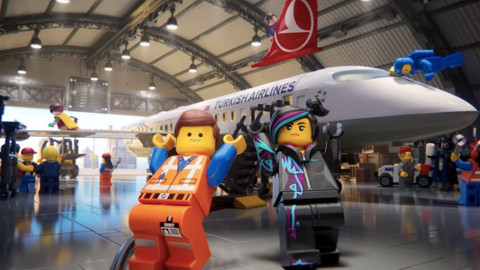 THY'den LEGO'lu reklam filmi