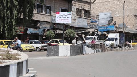 Afrin'de bulvara Cumhurbaşkanı Erdoğan'ın adı verildi