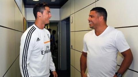 Ronaldo hastaneye kaldırıldı
