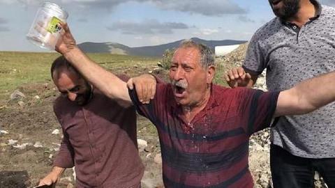 Çocukların bulduğu su köylüleri sevindirdi