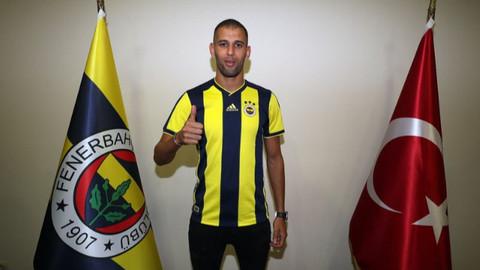 Fenerbahçe'nin yeni transferi Slimanı imzayı attı