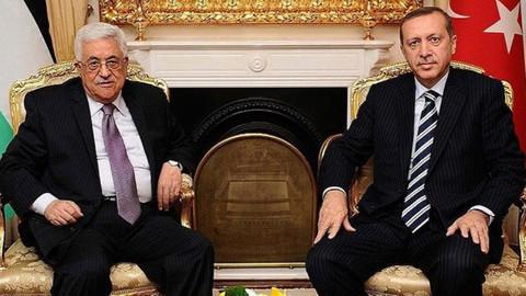 Cumhurbaşkanı Erdoğan, Filistin Devlet Başkanı Mahmud Abbas'la telefonda görüştü