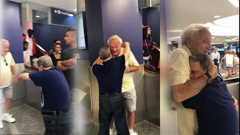 53 yaşındaki Down sendromlu adamın babasıyla buluşması