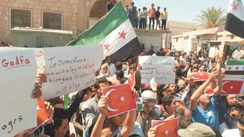 İdlib halkı: Türkiye bizi korusun