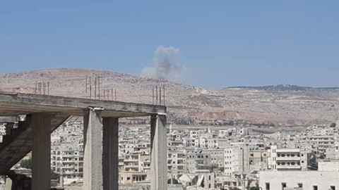 İdlib'e hava saldırısı sonrası Rusya'dan açıklama