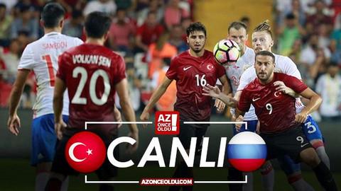 CANLI İZLE - Türkiye Rusya canlı izle - Türkiye Rusya AZ TV, İdman TV şifresiz izle