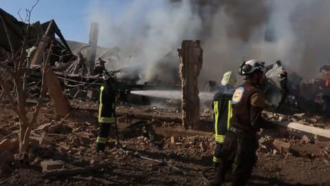 İdlib'de Beyaz Baretliler'e saldırı düzenlendi