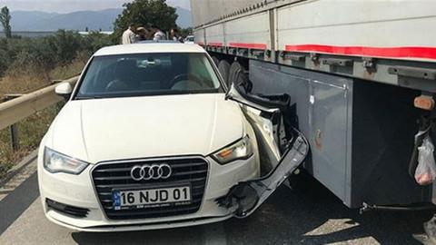 Kılıçdaroğlu'nun korumaları kaza yaptı